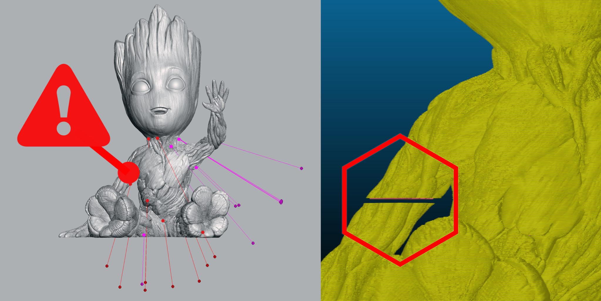 Jak opravit chyby v 3D modelech pro tisk