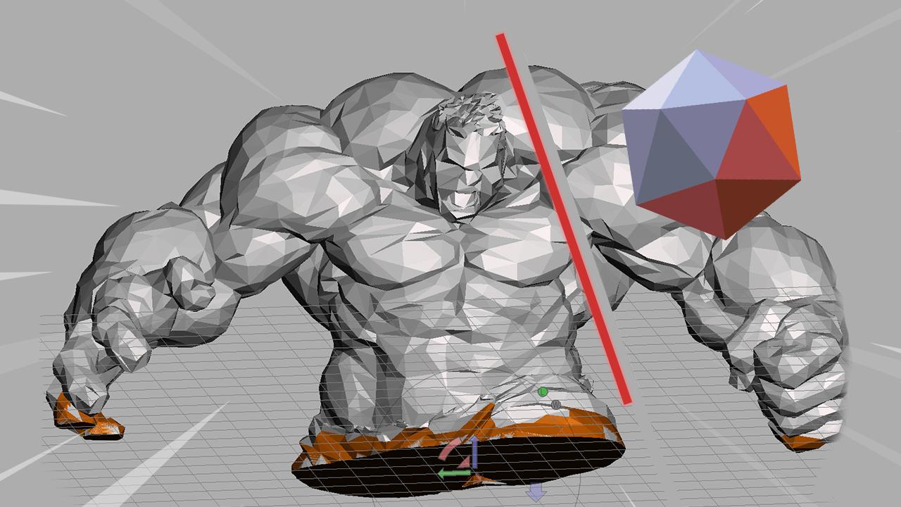 Jak rozdělit STL model pro 3D tisk v Meshmixeru