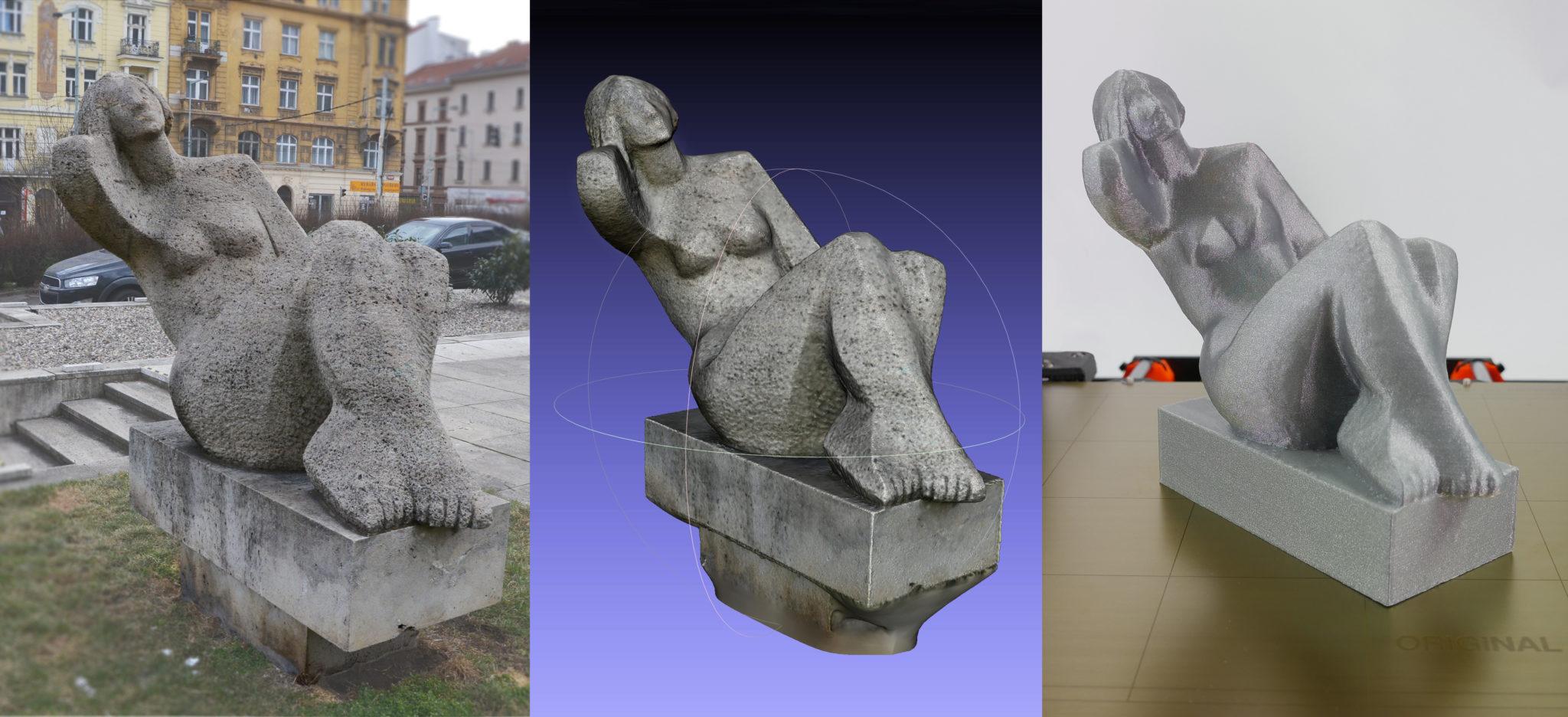 Fotogrammetrie – 3D skenování s použitím fotoaparátu či mobilu