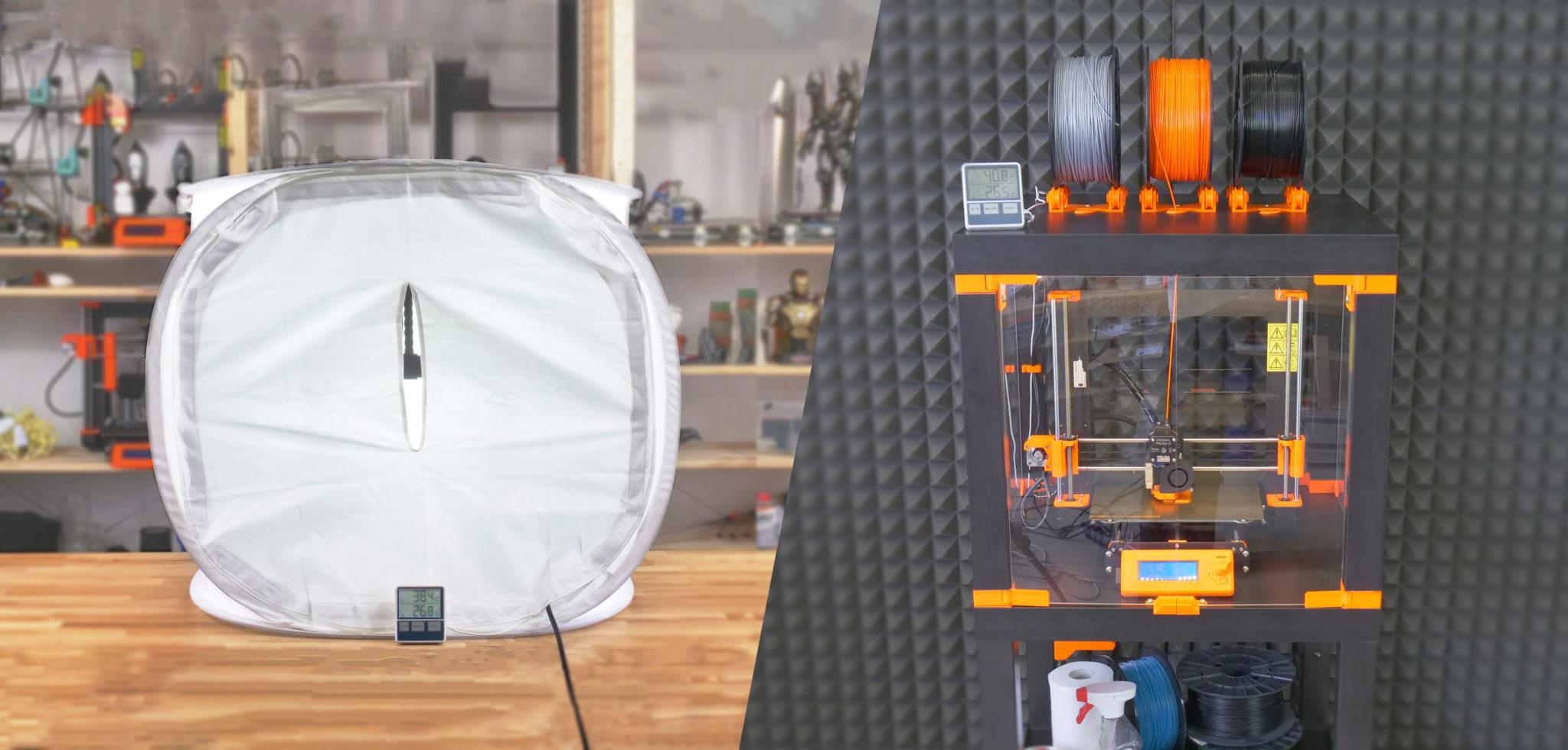 Jak si snadno a levně vyrobit box na 3D tiskárnu