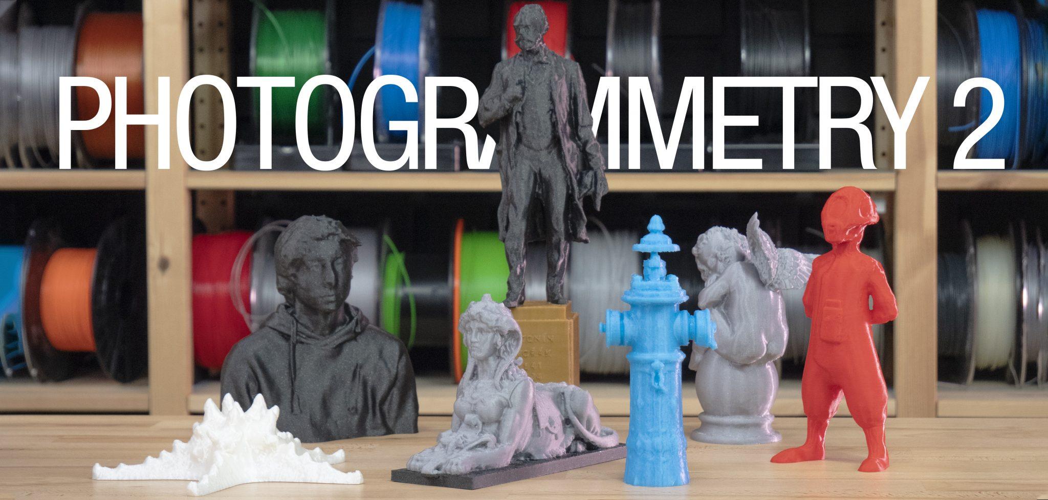 Fotogrammetrie 2 – 3D skenování jednodušší než kdy dřív!