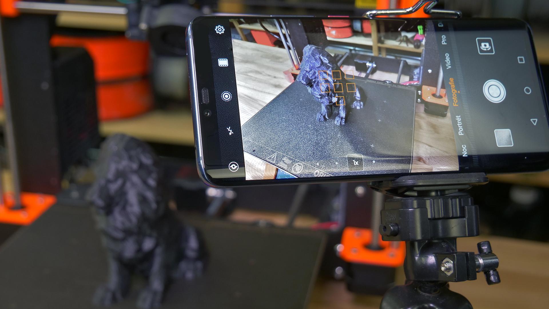 Jak na časosběry 3D tisků s pomocí mobilu