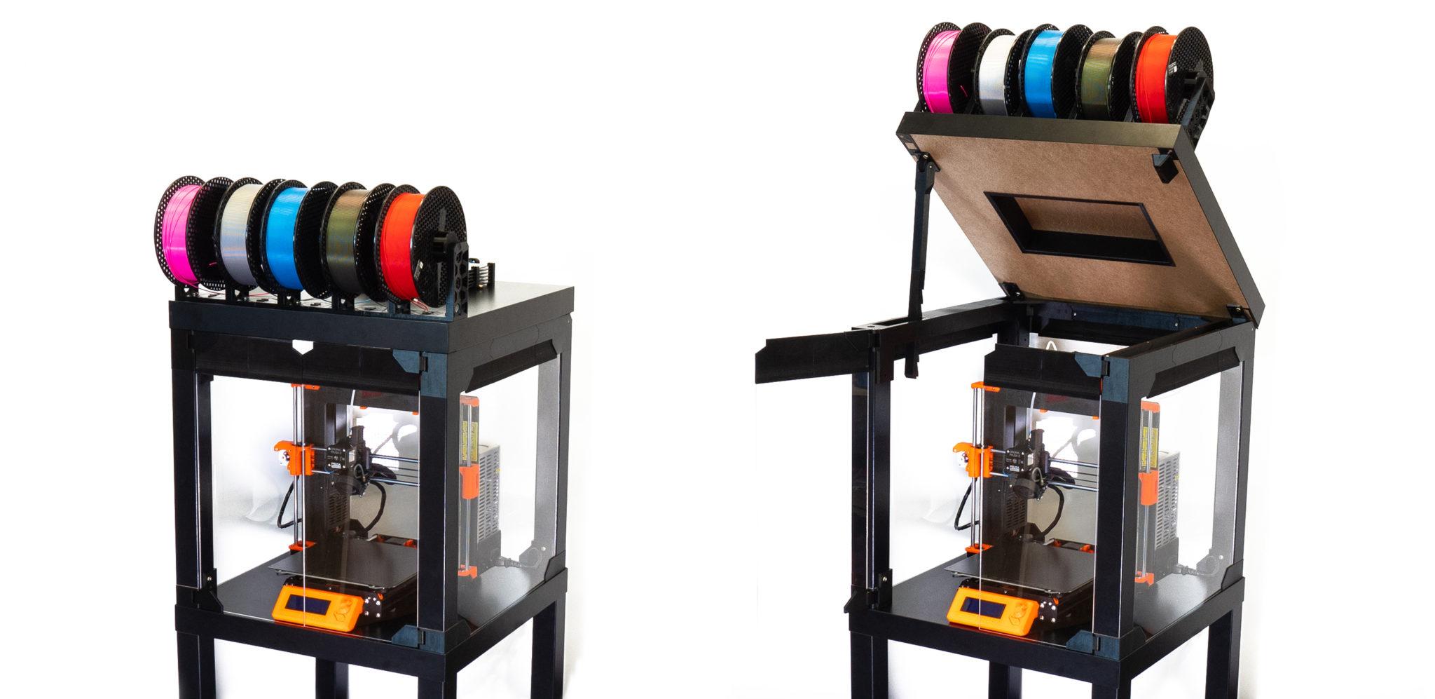 Jak vyrobit box na 3D tiskárnu Original Prusa i3 s MMU2S – kompletní návod